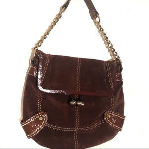Fossil suede purse